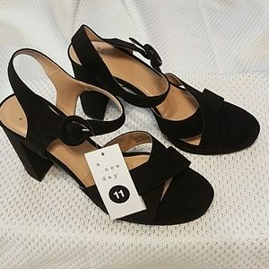 NWT A New Day Fiona ankle strap platform sandals